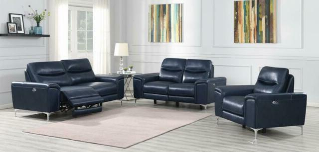 2019 3pc Power Sofa Set Contemporary Living Room Furniture Ink Regarding Bloutop Upholstered Sectional Sofas (View 10 of 20)