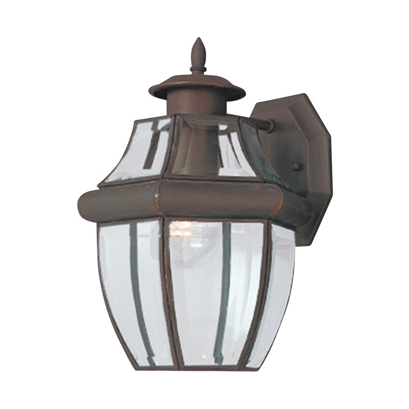 Featured Photo of Gillian Beveled Glass Outdoor Wall Lanterns