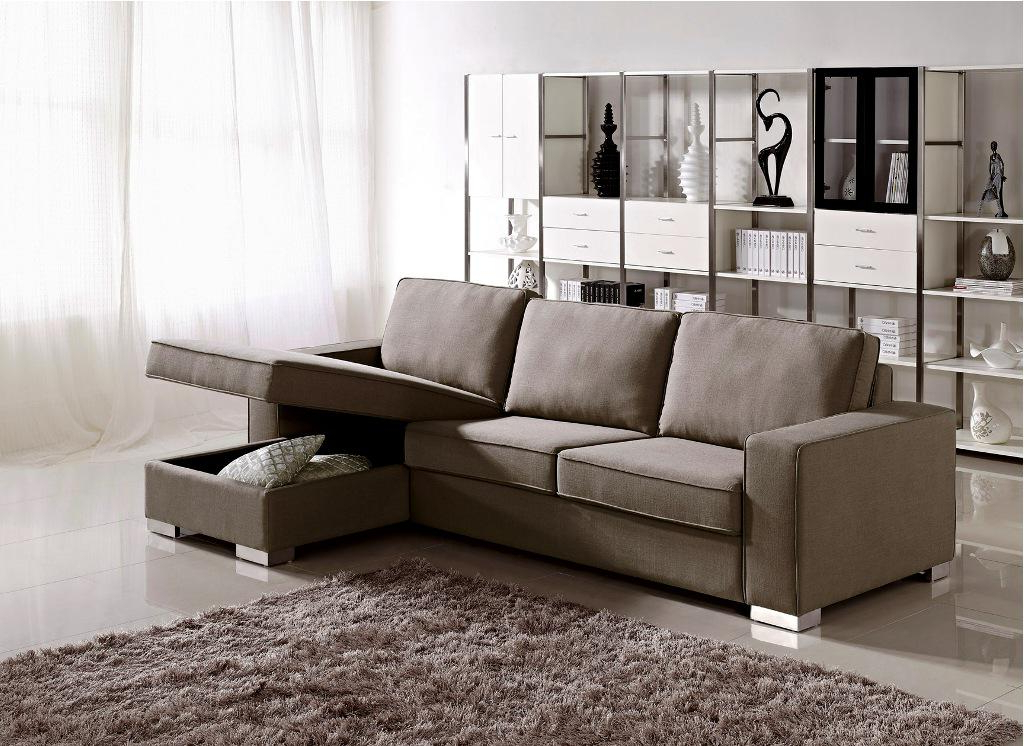 2019 Easton Small Space Sectional Futon Sofas In Small Sectional Sofa With Chaise: Perfect Choice For A (View 5 of 20)