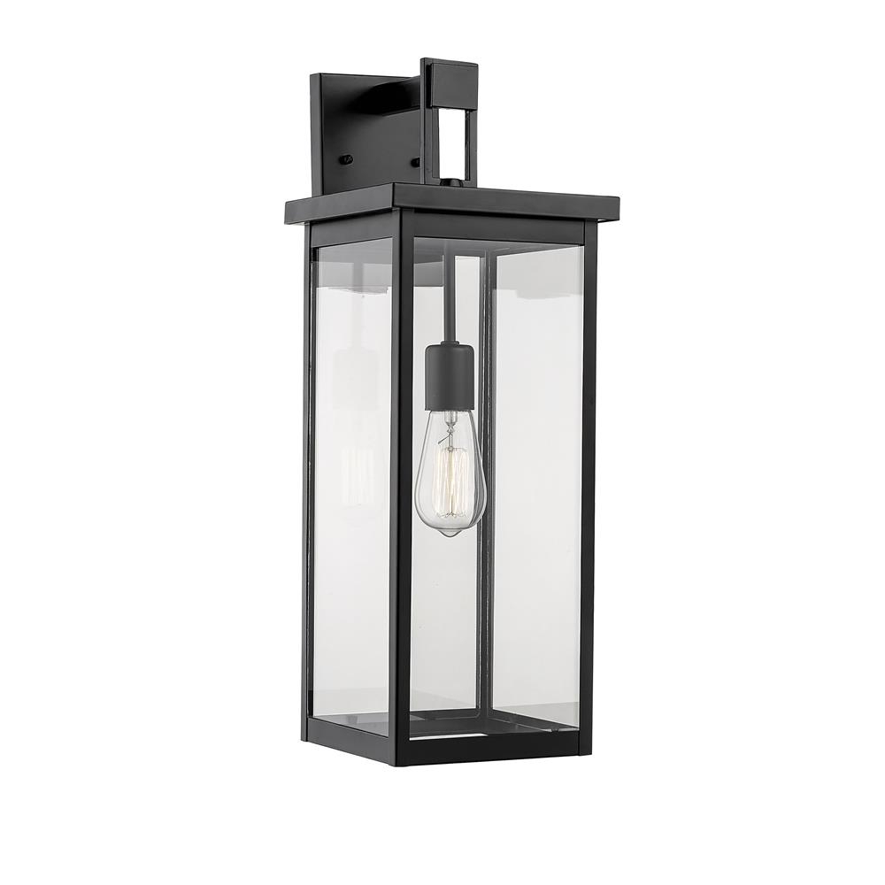 2019 Esquina Powder Coated Black Outdoor Wall Lanterns For 2601 Pbk – Millennium Lighting 2601 Pbk Outdoor Wall (View 6 of 20)