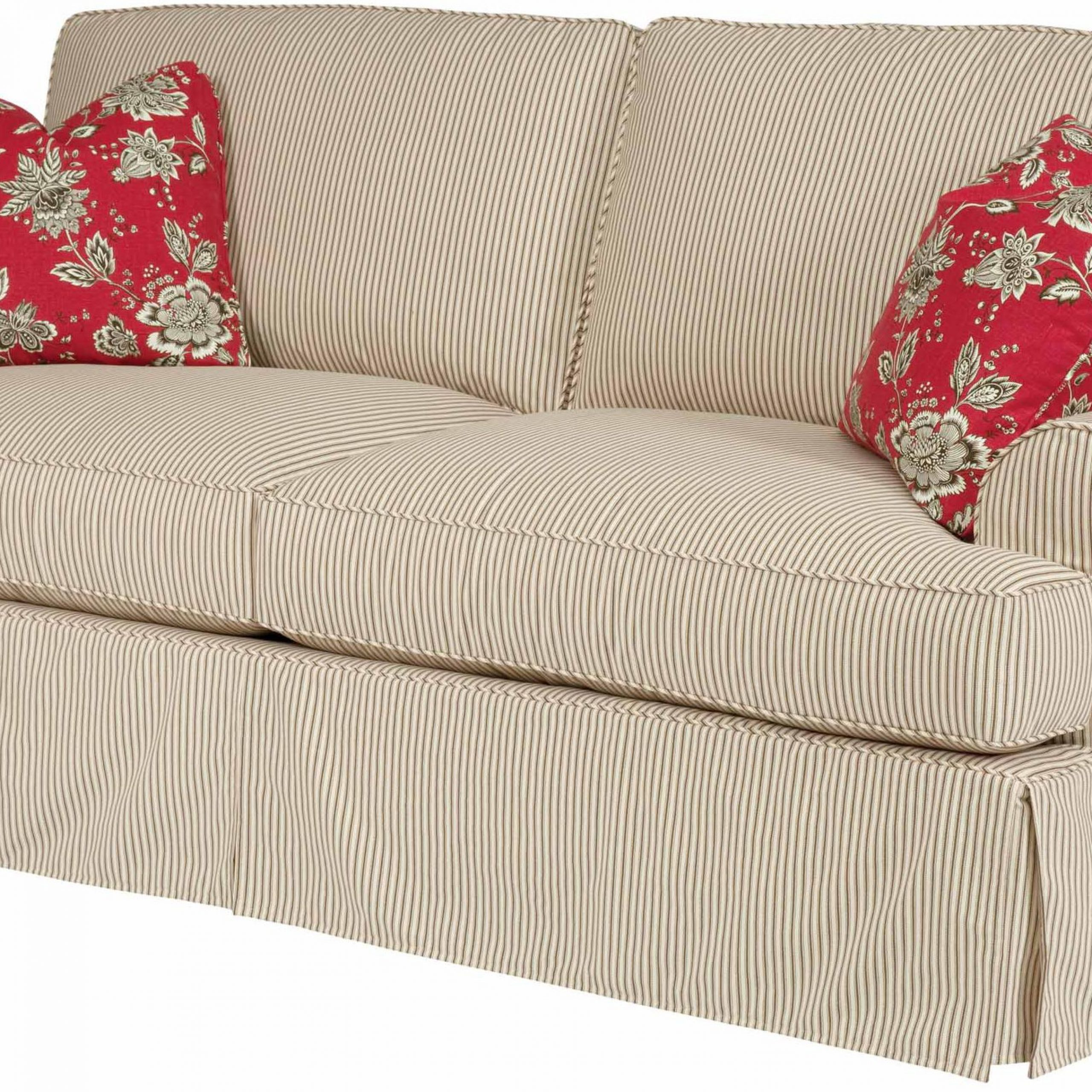 2019 Kincaid Furniture Samantha Samantha Two Seat Sofa With Pertaining To Lyvia Pillowback Sofa Sectional Sofas (View 16 of 20)