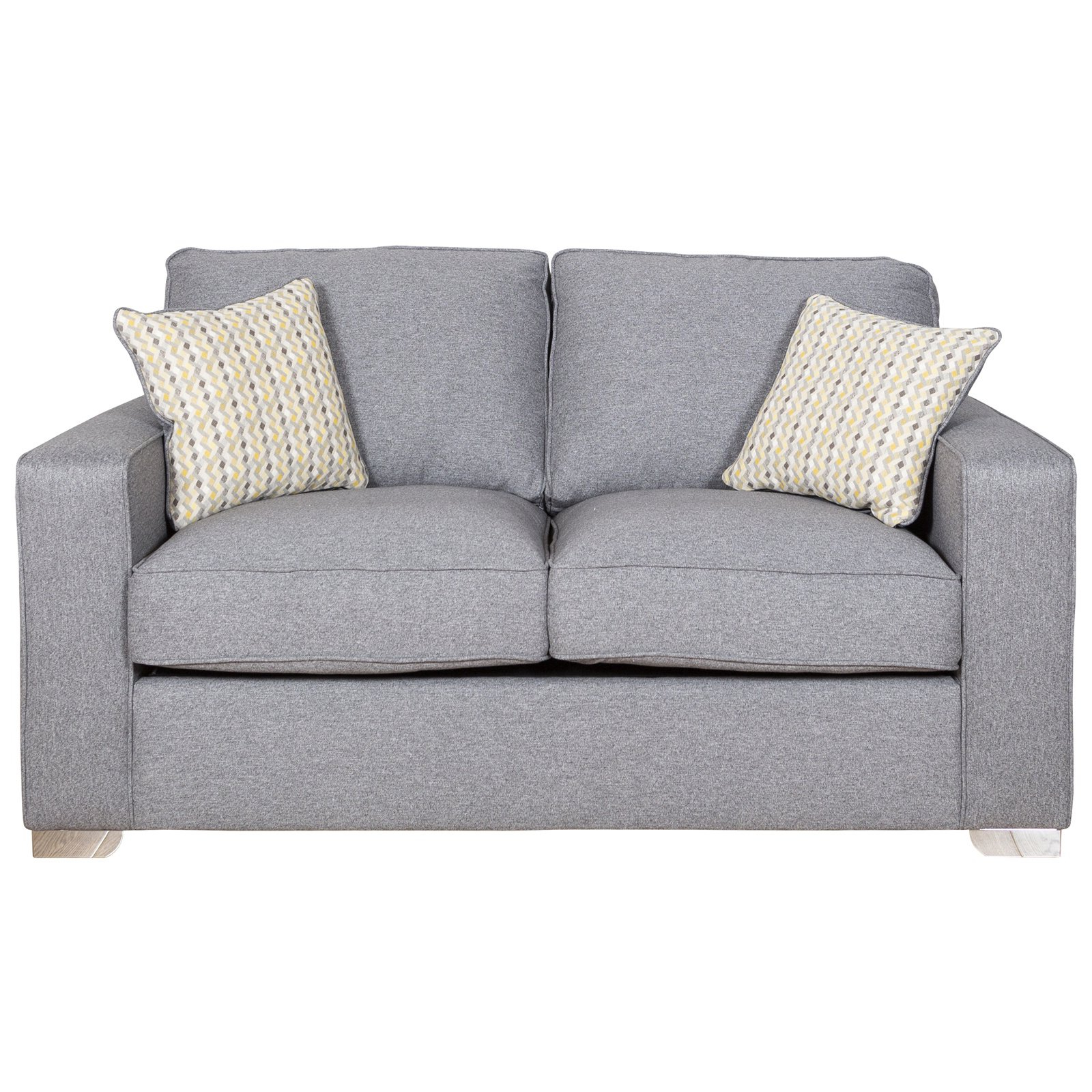 2019 Marino 120cm Suffolk Grey Sofa Bed Intended For Gray Sofas (View 15 of 20)