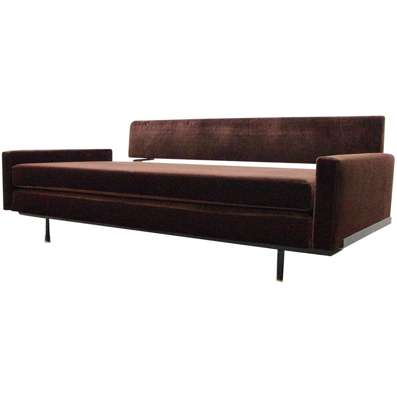 2019 Sofa Daybedflorence Knoll International, Mid Century Regarding Florence Mid Century Modern Right Sectional Sofas (View 12 of 20)