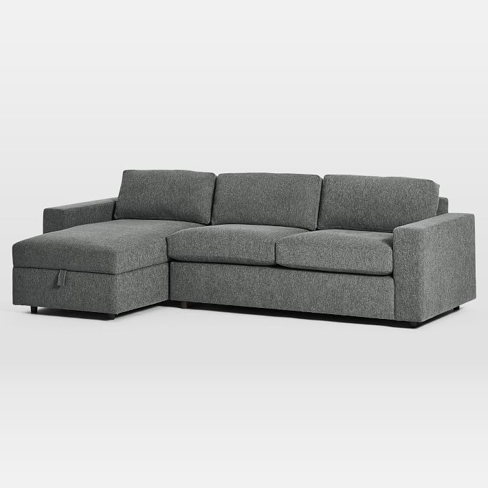 2020's Best Sectionals & Sofas For Style And Comfort Inside Most Up To Date Live It Cozy Sectional Sofa Beds With Storage (View 6 of 20)