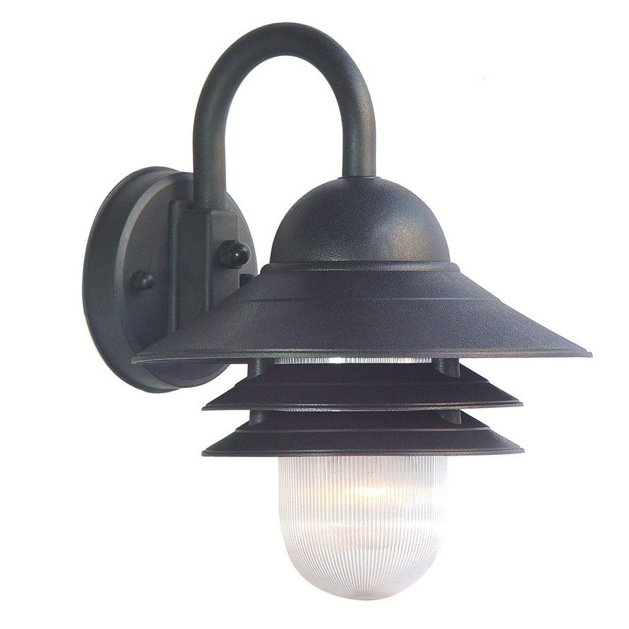 $27 – Lowes – Acclaim Lighting Mariner 13 In H Matte Black Pertaining To 2019 Mccay Matte Black Outdoor Wall Lanterns (View 8 of 20)