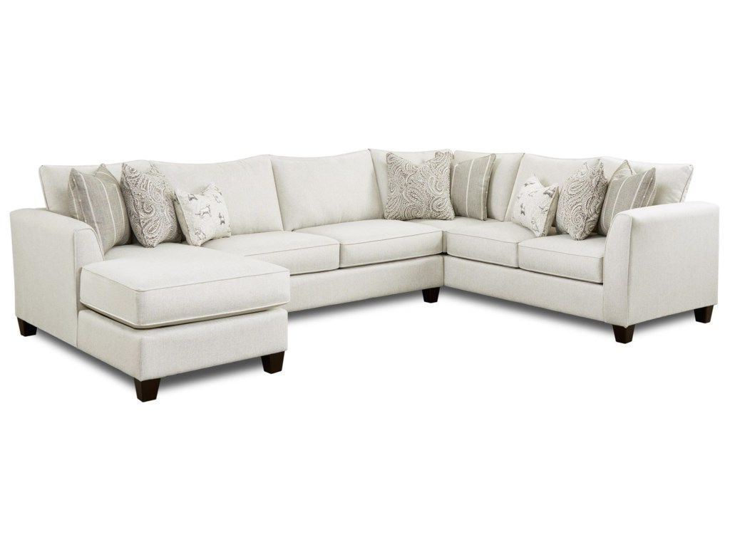 28 3 Piece Sectional With Right Chaisefusion Furniture Within Recent Copenhagen Reclining Sectional Sofas With Right Storage Chaise (View 15 of 20)