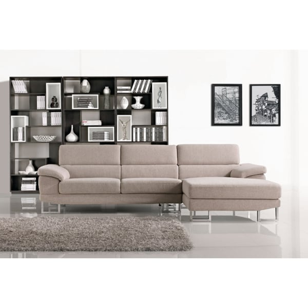 2pc Maddox Left Arm Facing Sectional Sofas With Chaise Brown In Trendy Torino Sectional Sofa With Left Facing Chaise – Free (View 8 of 20)
