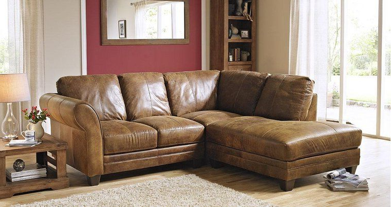 2pc Maddox Right Arm Facing Sectional Sofas With Chaise Brown For Trendy Kennedy Right Arm Facing 2 Piece Corner Sofa Outback (View 18 of 20)