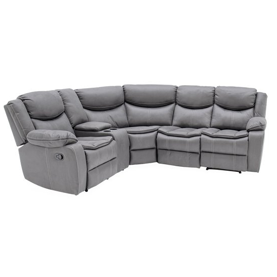 2pc Maddox Right Arm Facing Sectional Sofas With Chaise Brown With Most Recent Merryn Sectional Fabric Right Arm Facing Sofa In Grey (View 4 of 20)