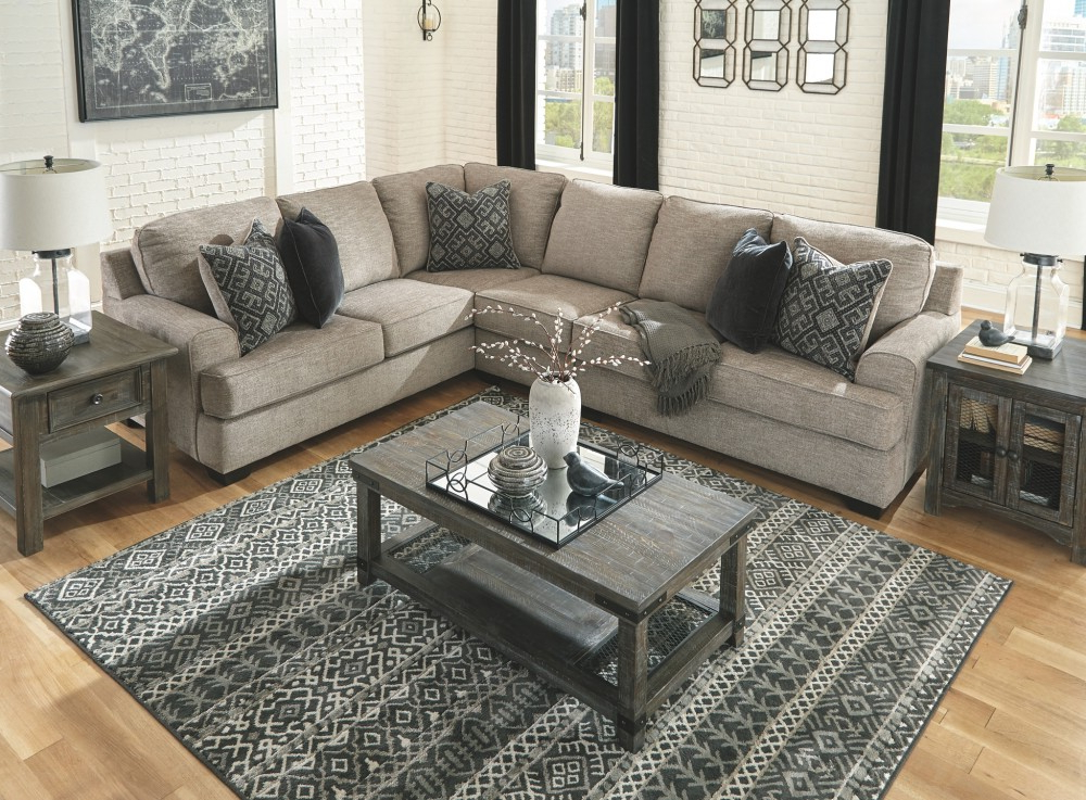 3pc Polyfiber Sectional Sofas Intended For Popular Bovarian – 3 Piece Sectional (View 20 of 20)