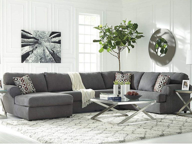 3pc Polyfiber Sectional Sofas With Nail Head Trim Blue/gray Regarding Current 50 Best Cheap Sectional Sofas For Every Budget – Homeluf (View 16 of 20)