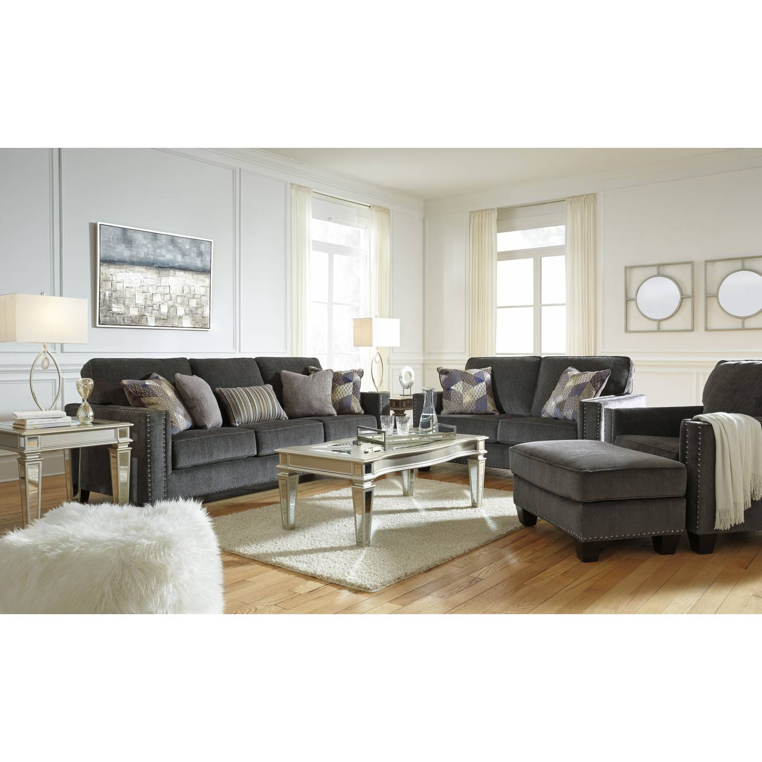 4pc Beckett Contemporary Sectional Sofas And Ottoman Sets Regarding Widely Used 43001 Gavril 4pc Sets Sofa + Loveseat + Chair + Ottoman (View 19 of 20)