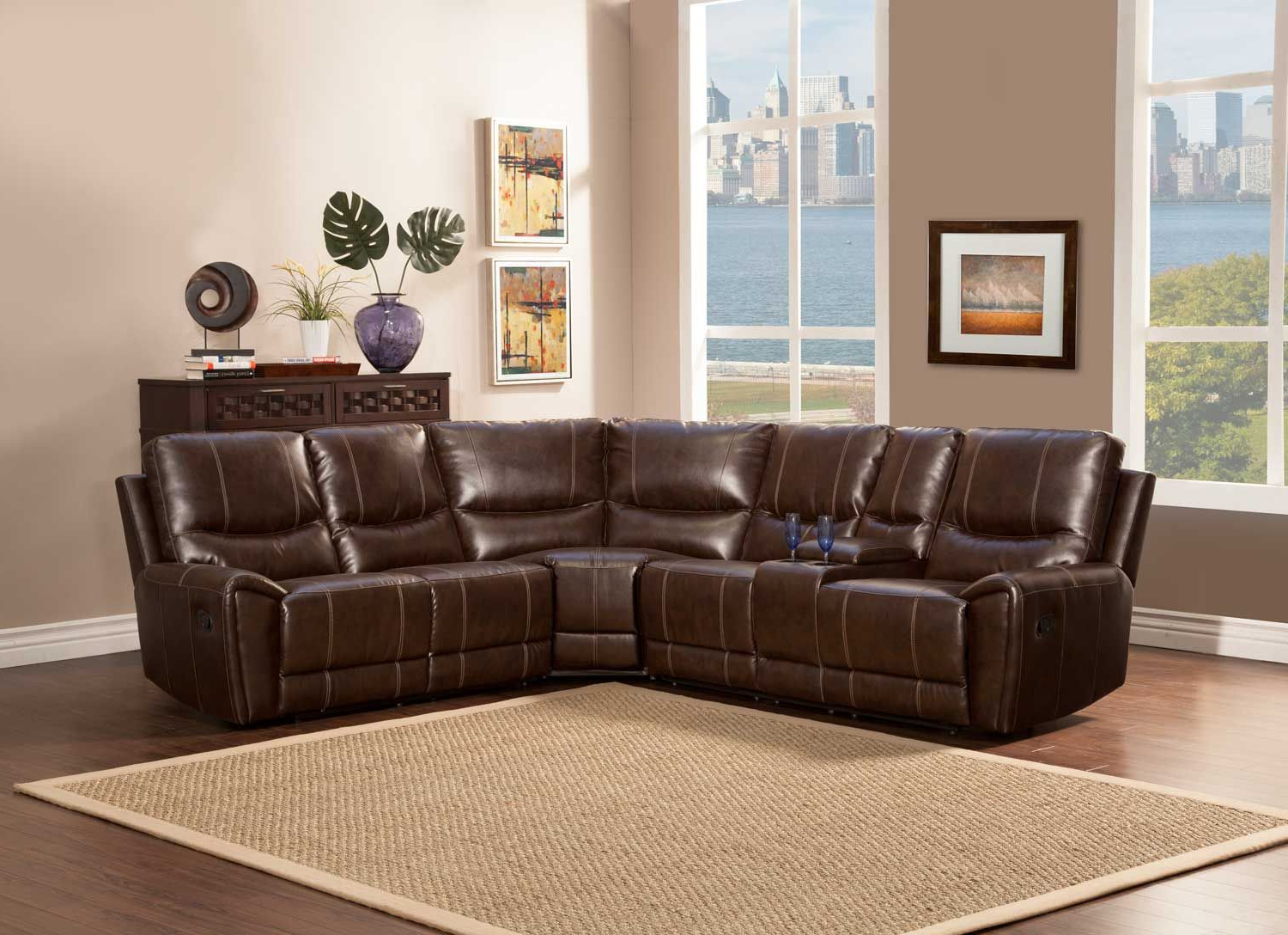 4pc Beckett Contemporary Sectional Sofas And Ottoman Sets With 2018 Gerald 4pc Sectional Set (View 7 of 20)