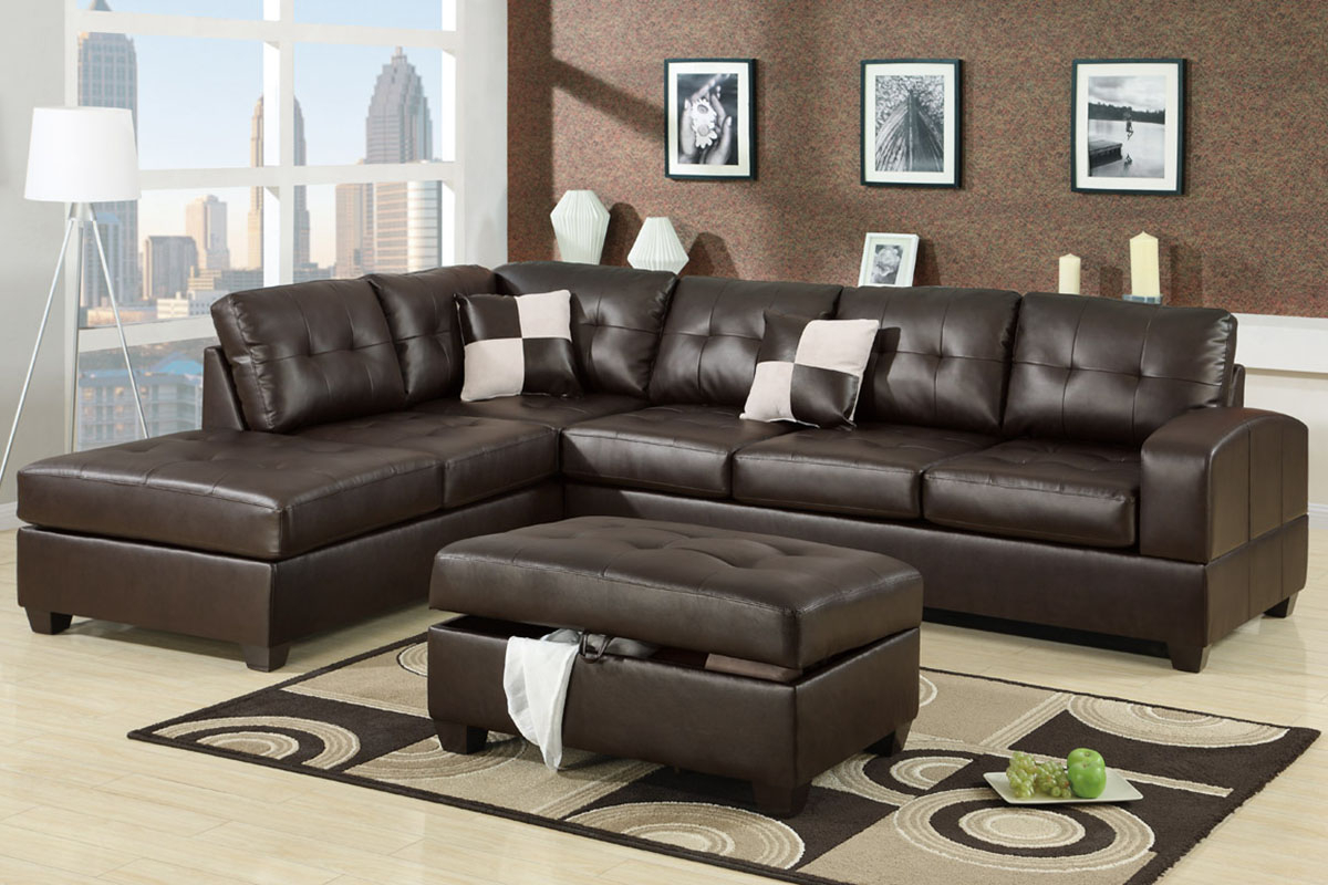 4pc Crowningshield Contemporary Chaise Sectional Sofas Throughout Most Popular Admirable 2 Piece Sectional Sofas With Chaise Flooding (View 7 of 20)