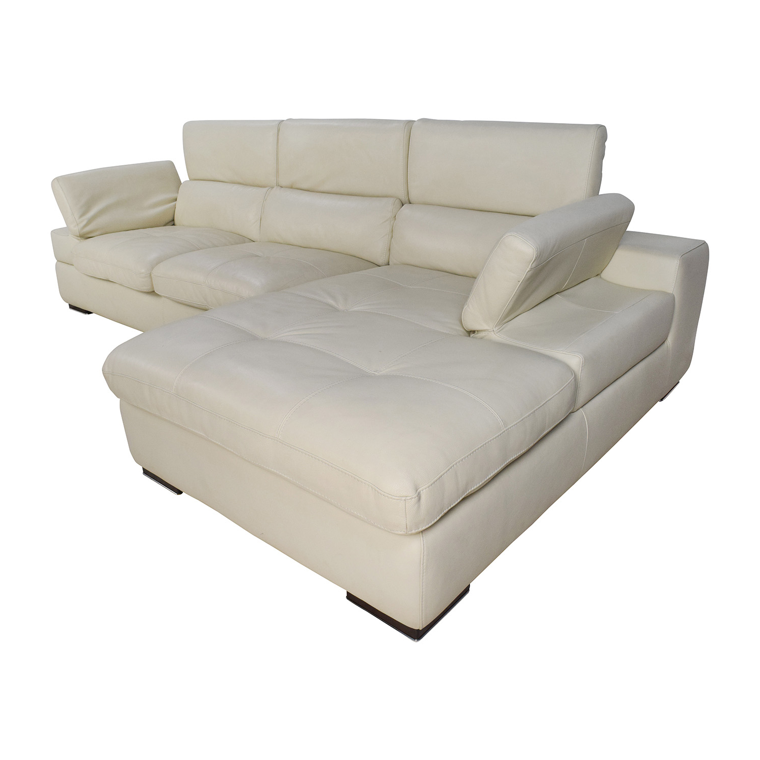 [%69% Off – L Shaped Cream Leather Sectional Sofa / Sofas Within Most Up To Date Owego L Shaped Sectional Sofas|owego L Shaped Sectional Sofas In Newest 69% Off – L Shaped Cream Leather Sectional Sofa / Sofas|most Recently Released Owego L Shaped Sectional Sofas Inside 69% Off – L Shaped Cream Leather Sectional Sofa / Sofas|newest 69% Off – L Shaped Cream Leather Sectional Sofa / Sofas Pertaining To Owego L Shaped Sectional Sofas%] (View 11 of 20)