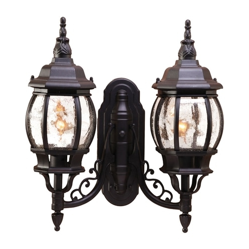 Acclaim Lighting Chateau 20 In H Matte Black Outdoor Wall Intended For Most Up To Date Mccay Matte Black Outdoor Wall Lanterns (View 4 of 20)