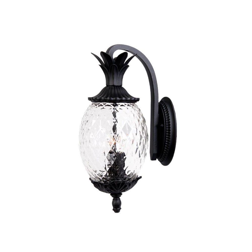 Acclaim Lighting Lanai Collection 2 Light Matte Black Inside Most Recently Released Bensley Matt Black Wall Lanterns (View 20 of 20)