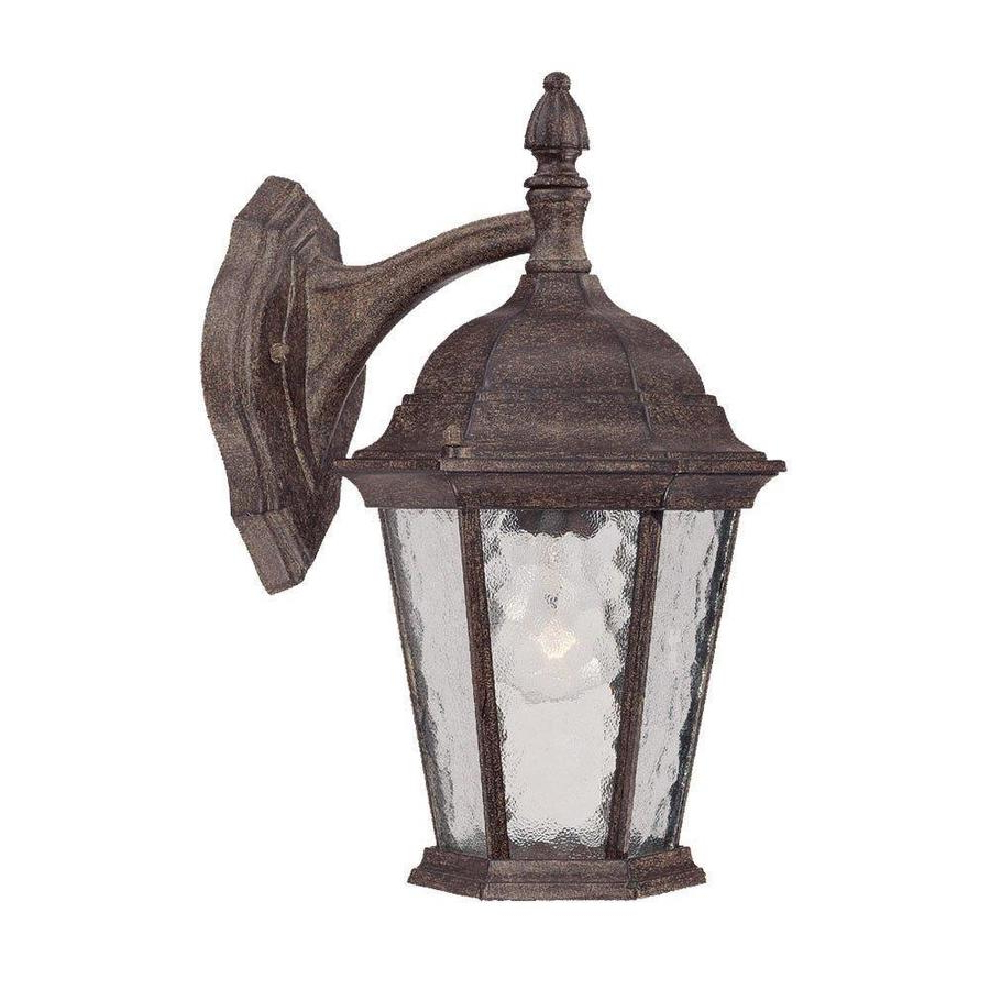 Acclaim Lighting Telfair 14.25 In H Black Coral Medium In Most Up To Date Black  (View 5 of 20)