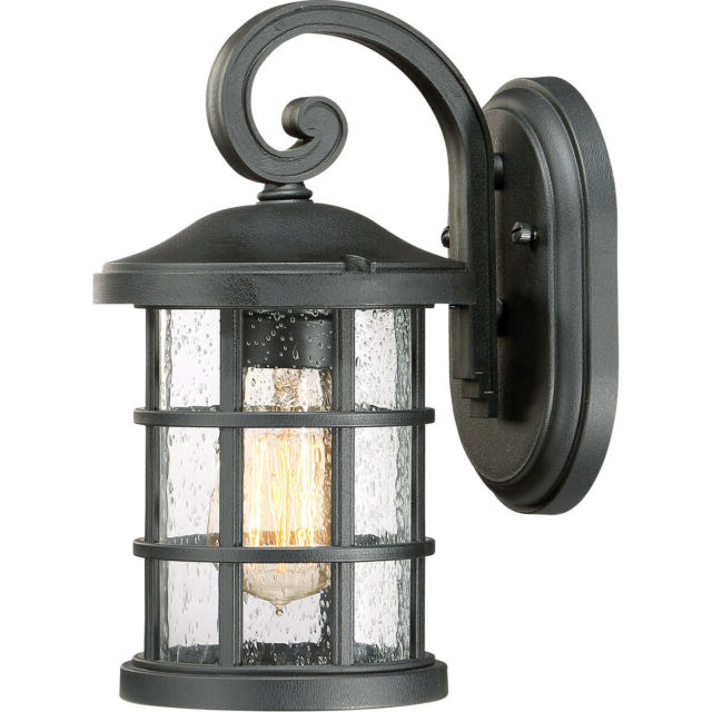 Ainsworth Earth Black Outdoor Wall Lanterns With 2019 Quoizel Cse8406ek Crusade 1 Light 11 Inch Earth Black (View 3 of 20)