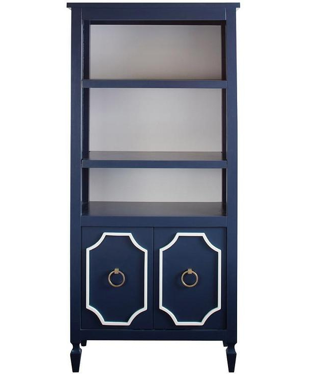 Annette Navy Sofas In Well Known Beverly Navy Bookcase I Annette Tatum Kids (View 11 of 20)