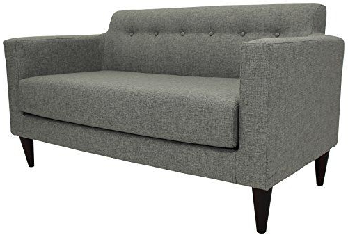 Annette Navy Sofas With Most Current Midcentury Modern Parker Lane Uls Nto Taa7 Netto Tufted (View 8 of 20)