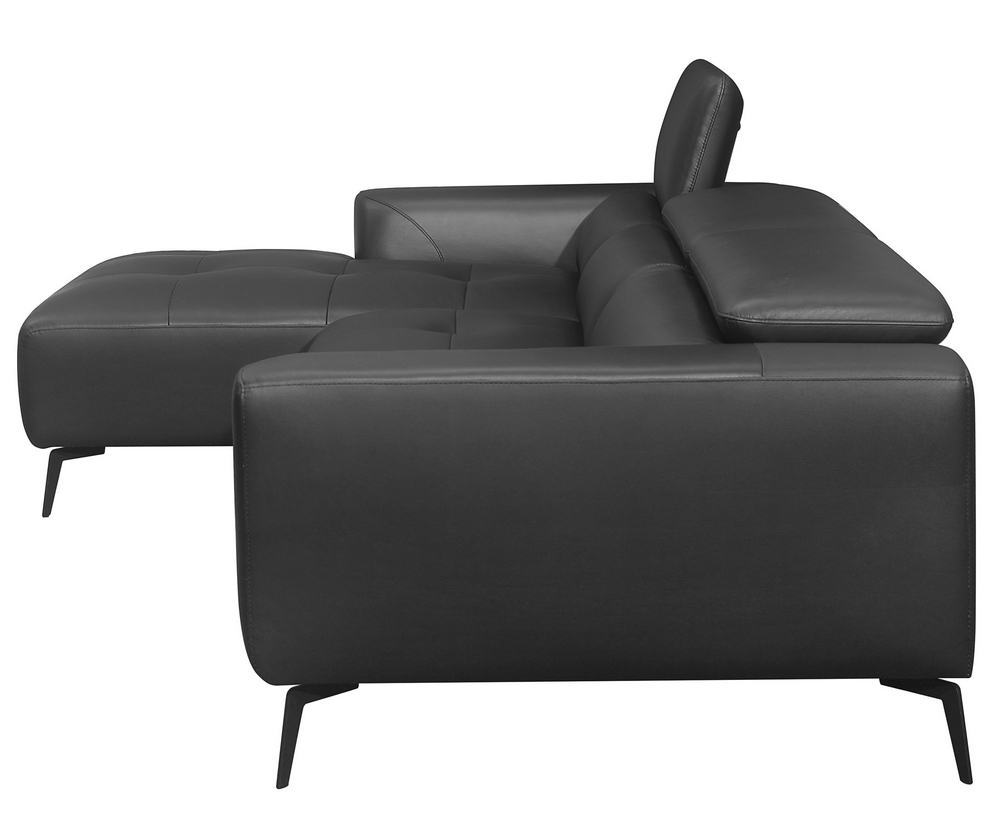 [%argonne 2 Pc Black Top Grain Leather Raf Sectional Sofa Intended For 2019 Matilda 100% Top Grain Leather Chaise Sectional Sofas|matilda 100% Top Grain Leather Chaise Sectional Sofas Pertaining To Famous Argonne 2 Pc Black Top Grain Leather Raf Sectional Sofa|recent Matilda 100% Top Grain Leather Chaise Sectional Sofas For Argonne 2 Pc Black Top Grain Leather Raf Sectional Sofa|most Up To Date Argonne 2 Pc Black Top Grain Leather Raf Sectional Sofa With Matilda 100% Top Grain Leather Chaise Sectional Sofas%] (View 18 of 20)