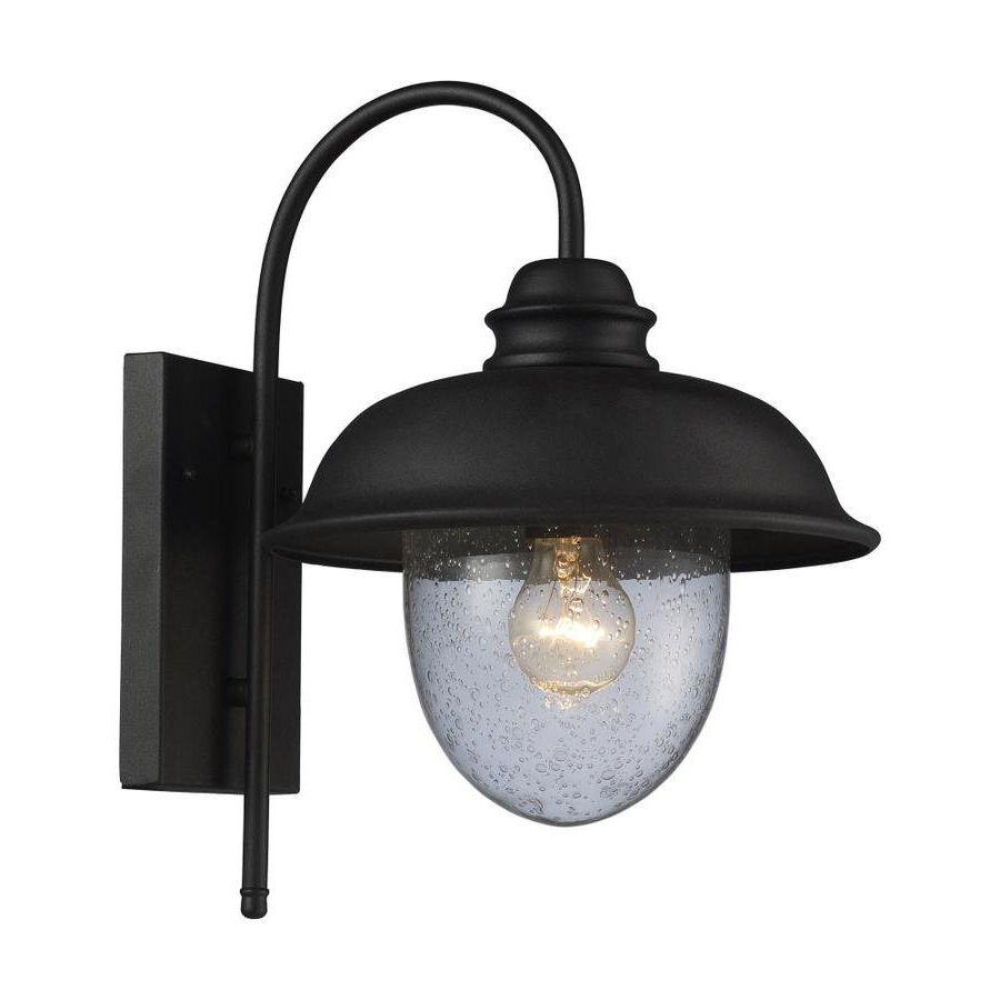 Armanno Matte Black Wall Lanterns For Well Known Westmore Lighting Brier 15 In H Matte Black Medium Base (e (View 3 of 20)