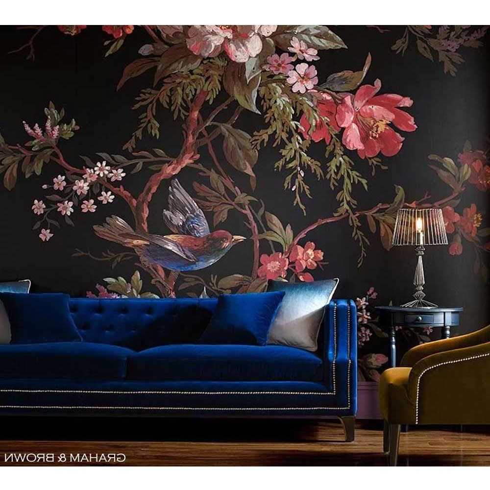 Artisan Blue Sofas Within Widely Used Imperial Blue Velvet Sofa (View 10 of 20)
