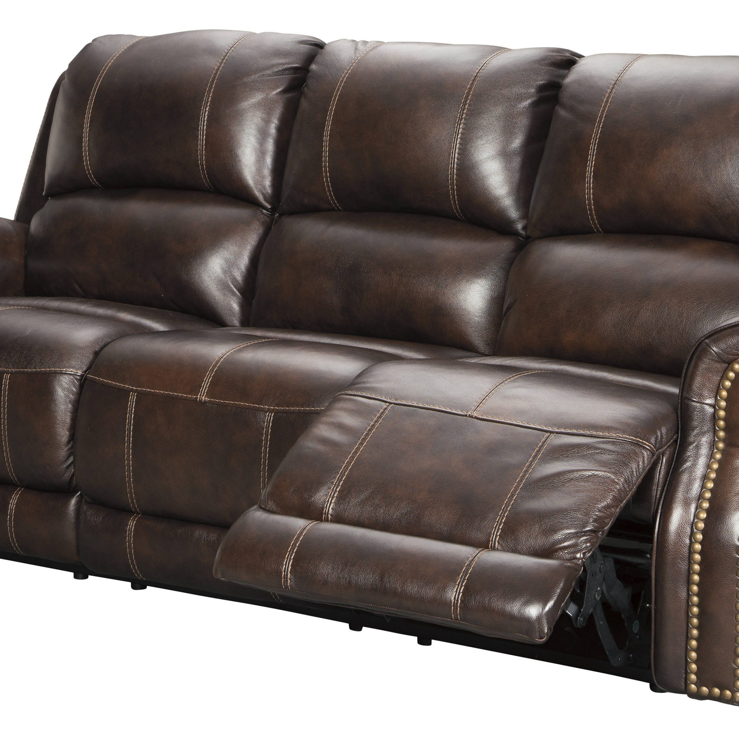 Ashley Furniture Buncrana Power Reclining Sofa With Throughout 2018 Raven Power Reclining Sofas (View 7 of 20)