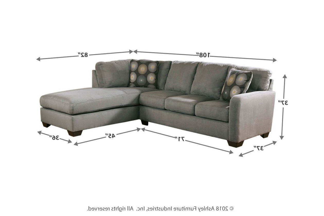 Ashley Furniture For Most Recent 2pc Burland Contemporary Sectional Sofas Charcoal (View 12 of 20)