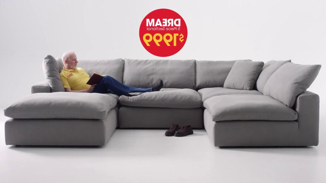 Baci Living Room Throughout 2pc Maddox Left Arm Facing Sectional Sofas With Cuddler Brown (View 8 of 19)