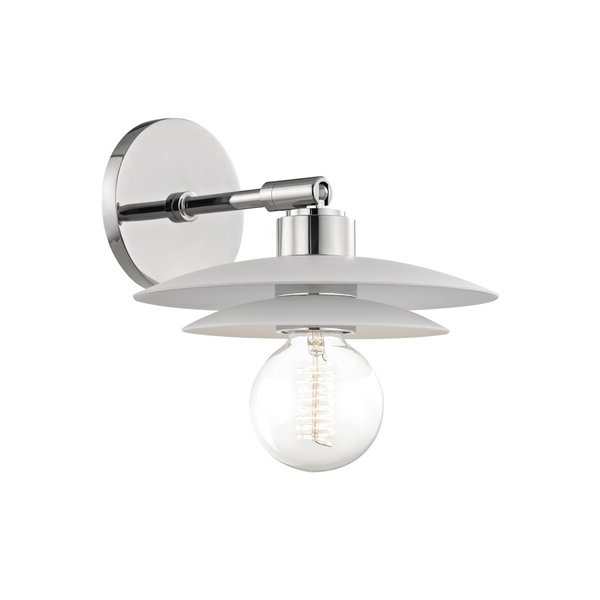 Best And Newest Cantrall 8'' H Outdoor Armed Sconces With Bryne 1 – Light Hardwired Armed Sconce & Reviews (View 6 of 20)