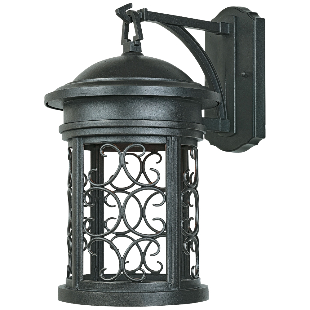 """Best And Newest Jordy Oil Rubbed Bronze Outdoor Wall Lanterns Intended For Ellington 13"""" High Oil Rubbed Bronze Outdoor Wall Light (View 2 of 20)"""