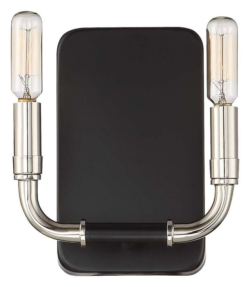 Best And Newest Pin On Products In Felsted Matte Black 2 – Bulb Outdoor Armed Sconces (View 12 of 20)