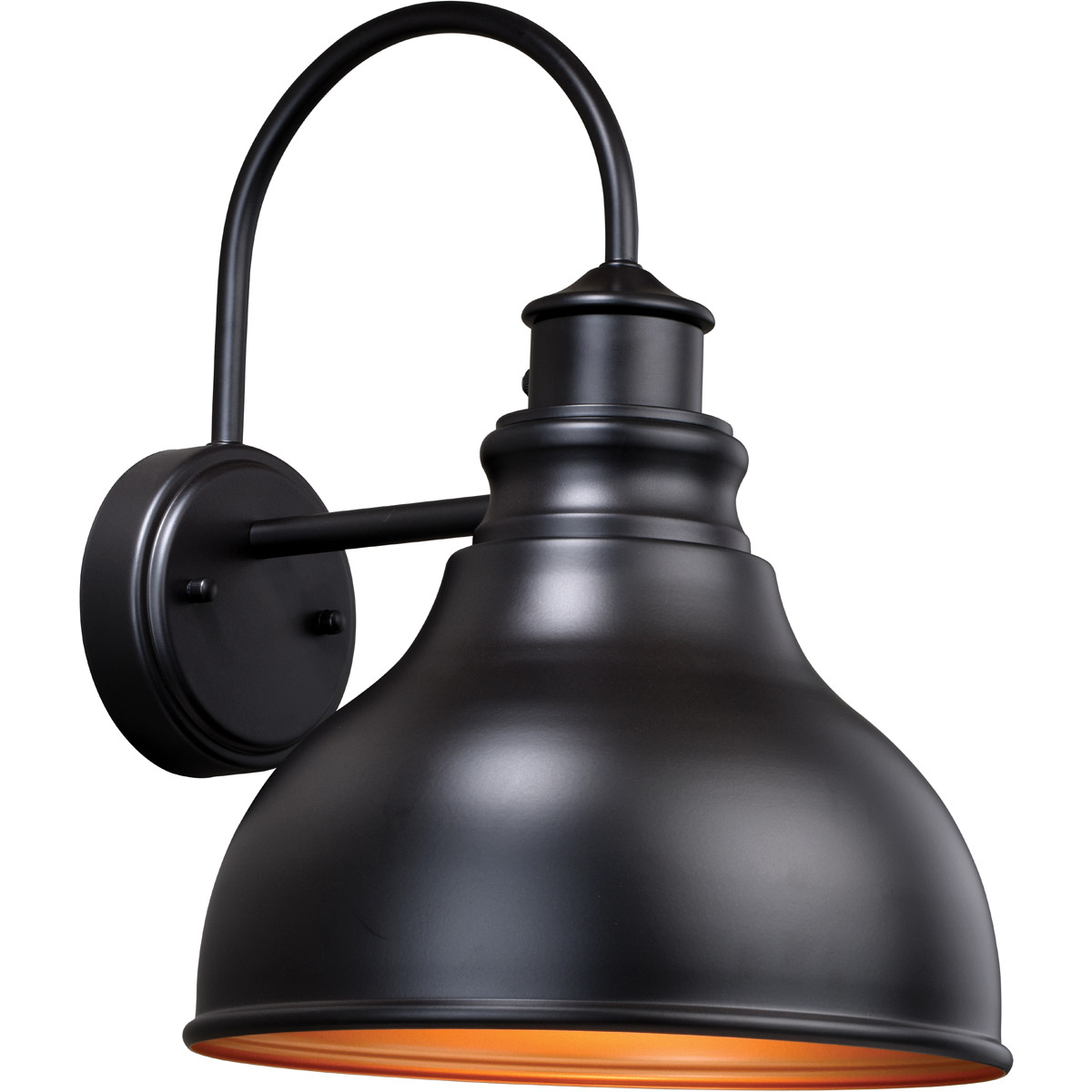 Best And Newest Ranbir Oil Burnished Bronze Outdoor Barn Lights With Dusk To Dawn For Vaxcel T0314 Delano Outdoor Wall Light Oil Burnished (View 5 of 20)
