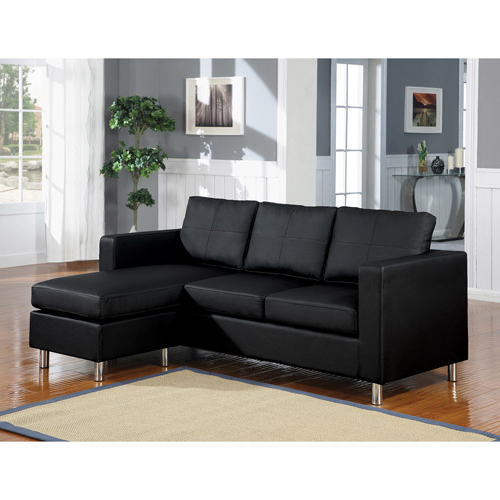 Best And Newest Sectional Sofa For Small Spaces – Homesfeed Intended For Wynne Contemporary Sectional Sofas Black (View 10 of 20)