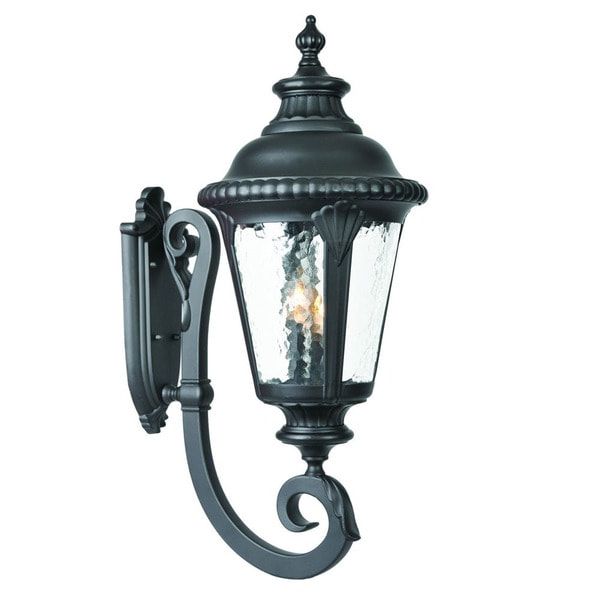 Best And Newest Shop Acclaim Lighting Surrey Collection 3 Light Outdoor Intended For Roden Black 3 Bulb Outdoor Wall Lanterns (View 3 of 20)