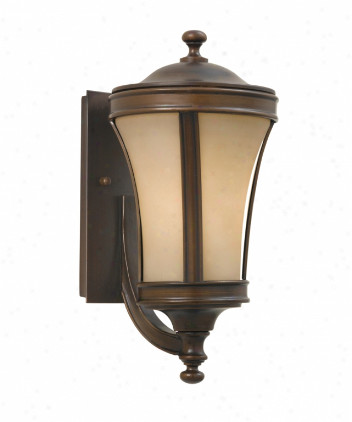 Best And Newest Tracy Porter Collection 6 9927 3 300 Persimmon 3 Light With Regard To Needham Dark Bronze 17'' H Seeded Glass Outdoor Flush Mount (View 11 of 19)