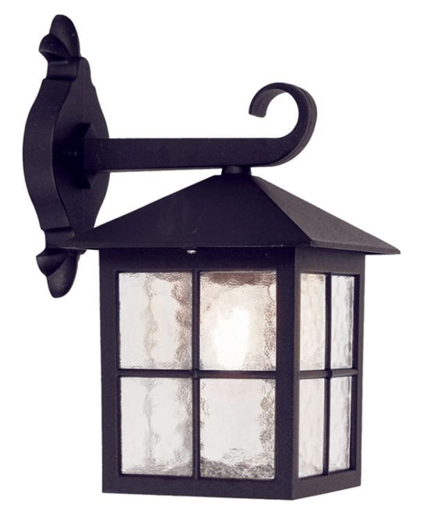 Best And Newest Winchester Outdoor Wall Down Lantern Bl18 Black Intended For Bellefield Black Outdoor Wall Lanterns (View 3 of 20)