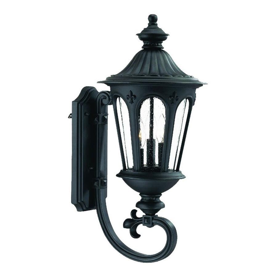 Binegar Matte Black Outdoor Wall Lanterns In Preferred Shop Acclaim Lighting Marietta  (View 2 of 20)