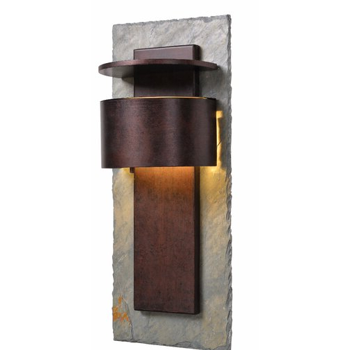 Bloomsbury Market Nelligan 1 – Bulb Integrated Led Outdoor Pertaining To Most Recent Chazz Integrated Led Outdoor Armed Sconces (View 20 of 20)