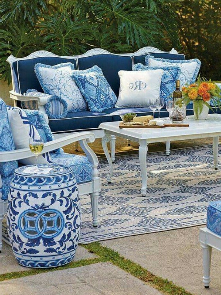 Blue Decor, Blue With Regard To Scarlett Blue Sofas (View 19 of 20)