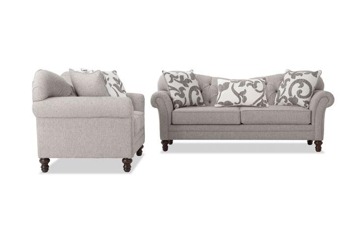 Blue Sofa Set (View 1 of 20)