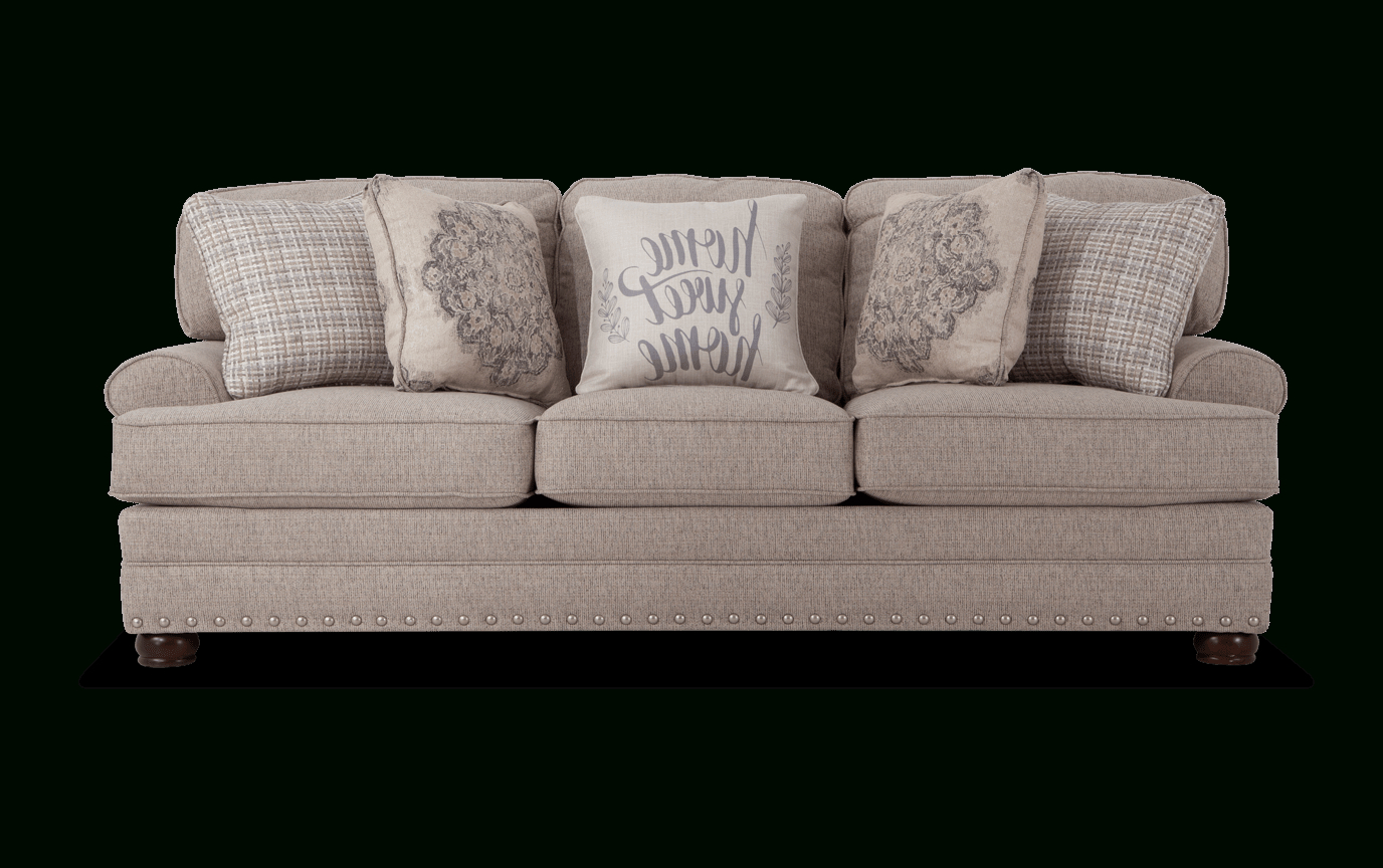 Bobs Sofa Greyson Sofa Living Room Makeover In 2019 With Regard To Well Known Katie Charcoal Sofas (View 6 of 20)