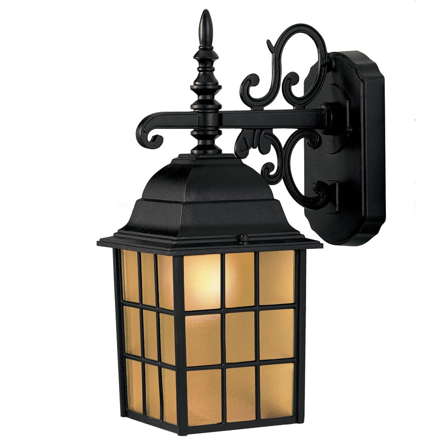 Borde Black Outdoor Wall Lanterns Inside Most Up To Date Shop Portfolio  (View 17 of 20)