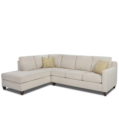 Bosco Contemporary 2 Piece Sectional With Right Arm Facing Intended For Trendy 2pc Burland Contemporary Chaise Sectional Sofas (View 3 of 20)