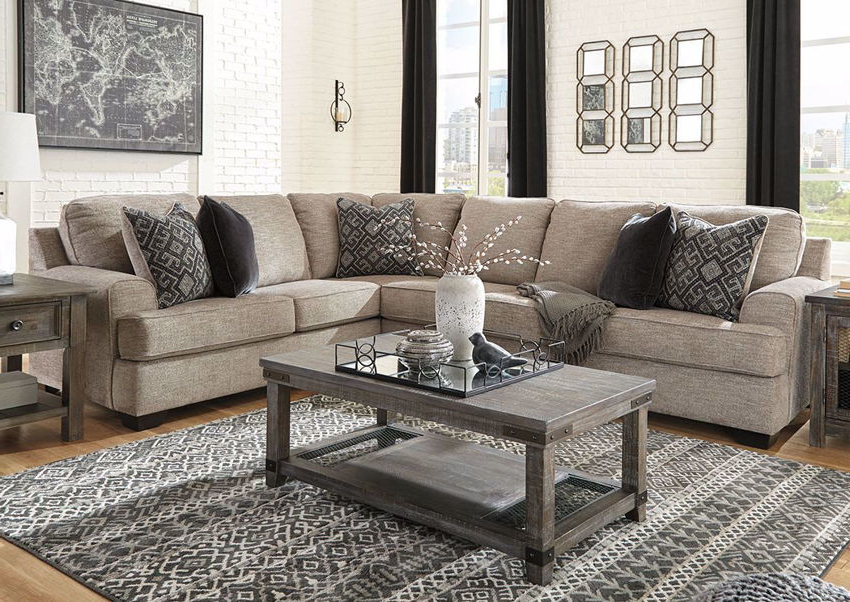 Bovarian Sectional Sofa Right – Brown (View 5 of 20)