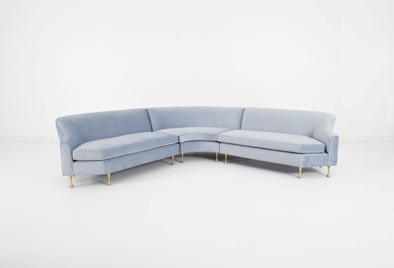 Brayson Chaise Sectional Sofas Dusty Blue Regarding Most Up To Date Solstice Sectional (View 11 of 20)