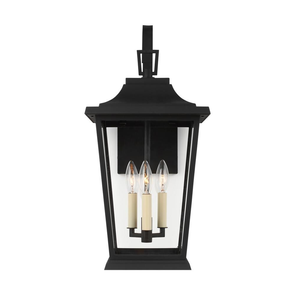 Featured Photo of Brierly Oil Rubbed Bronze/Black Outdoor Wall Lanterns