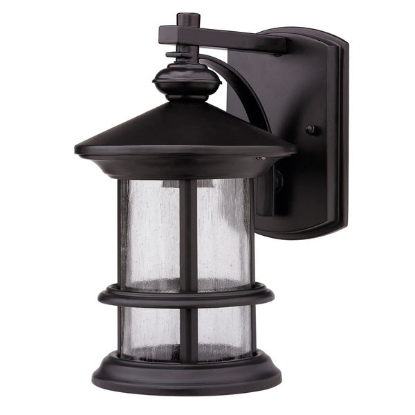 Brierly Oil Rubbed Bronze/black Outdoor Wall Lanterns With Regard To Trendy Rubbed Dark Bronze 1 Light Outdoor Wall Mounted Light (View 7 of 20)